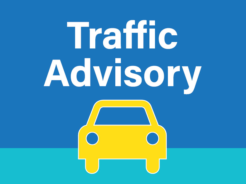 Traffic Advisory - Lane Closure on Sandhill Boulevard News Image