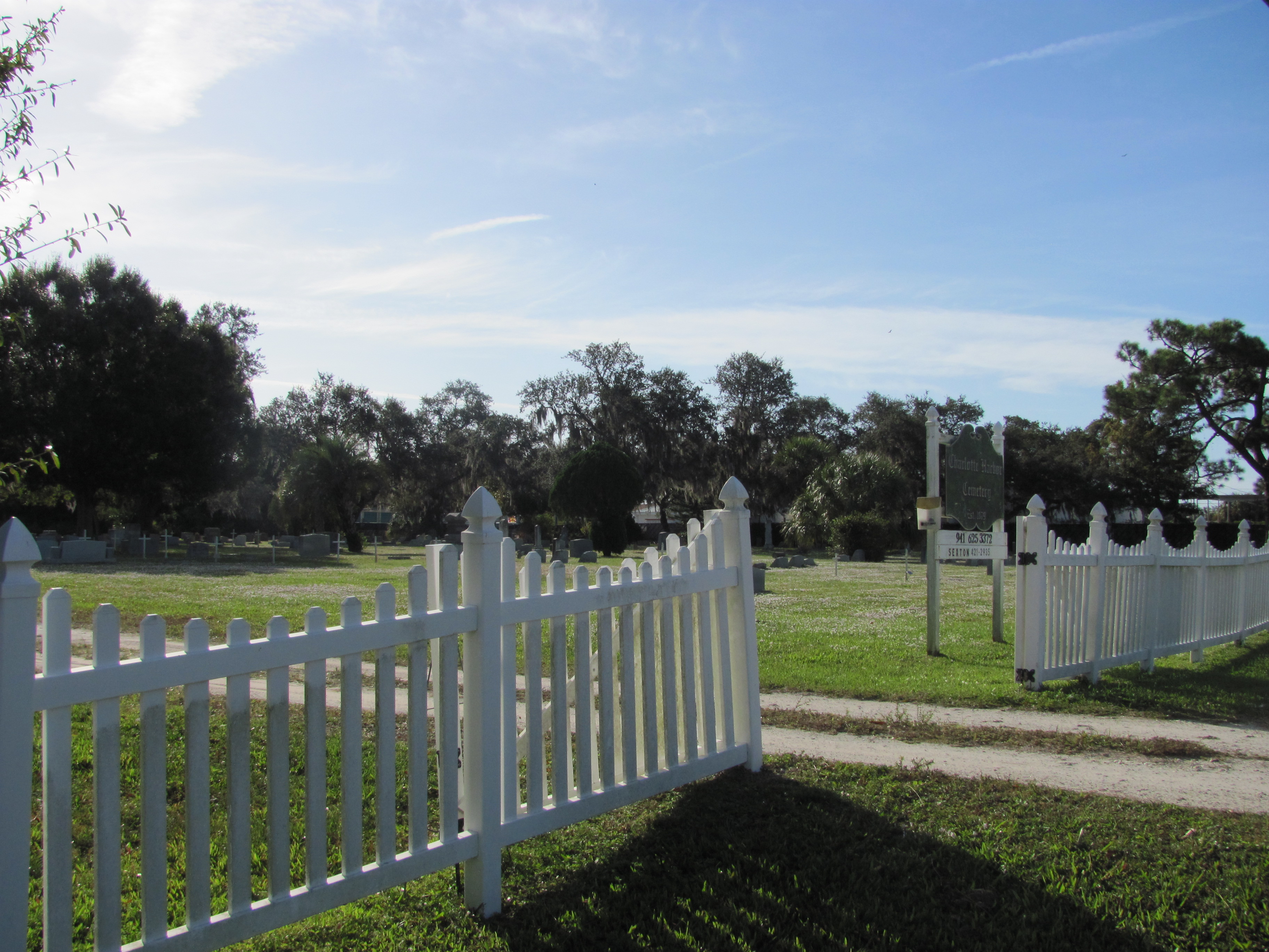 Charlotte Harbor Cemetery property view photo